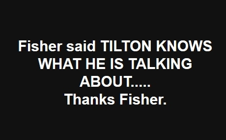 Philip Tilton Say To STOP Listening to Fisher!  11/14/17 Fishin11
