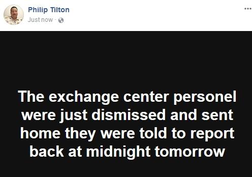 Philip Tilton ~Breaking News~ Exchange Center Update!  11/22/17 Pt110
