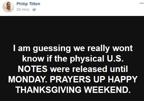 Philip Tilton ~Breaking News~ Exchange Center Update!  11/22/17 Pt210