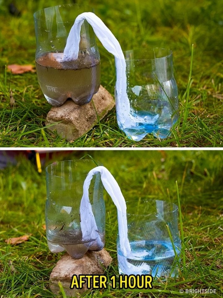 Filtre à eau improvisé 11-lif10