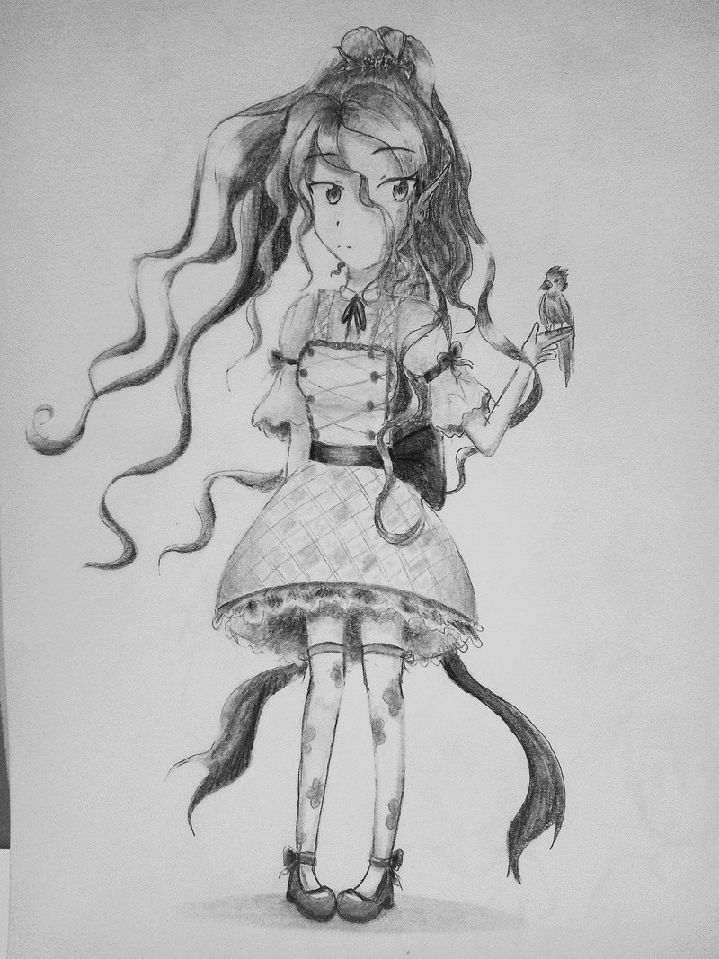 Dessins d'une petite soeur <3 Kawaii11