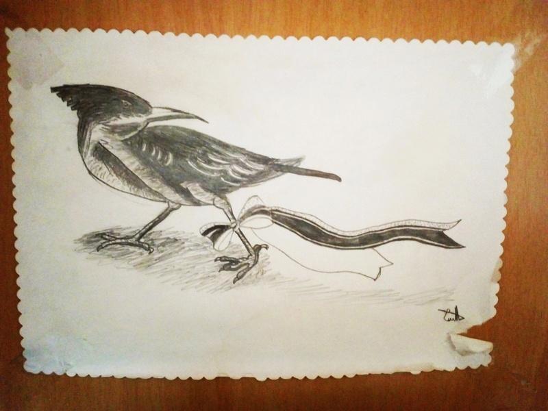 Dessins d'une petite soeur <3 Oiseau10