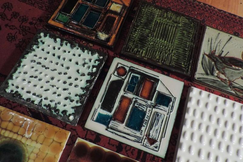 Coffee Table Tile Project x28 Tiles Dscn9310