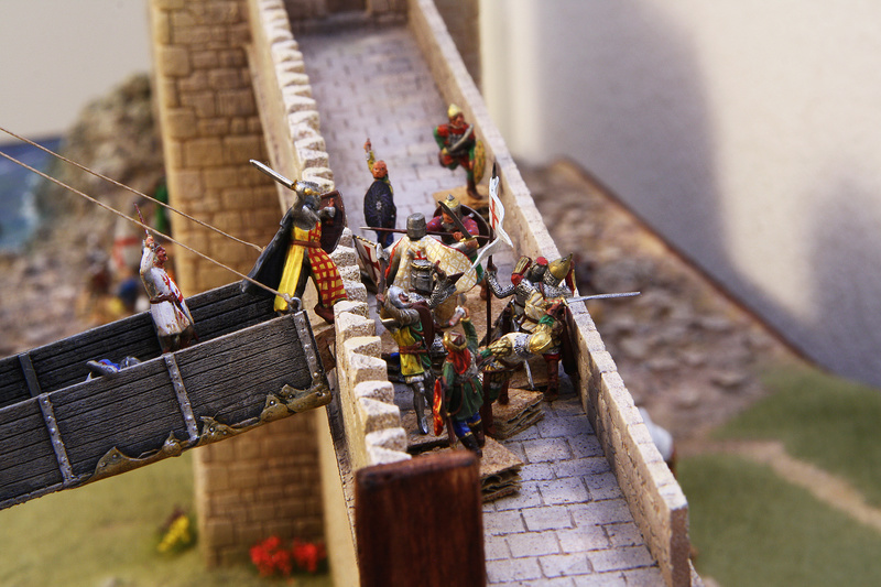 [Diorama 1/72] - Siège de Saint Jean d'Acre - 1191 Assaut11