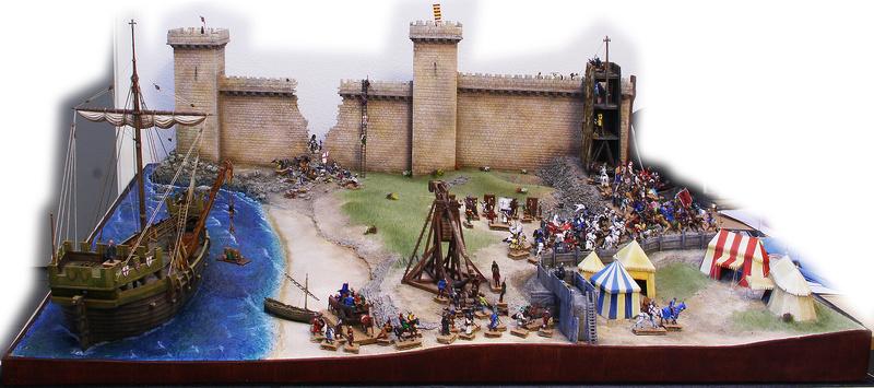 [Diorama 1/72] - Siège de Saint Jean d'Acre - 1191 Vue_d_10