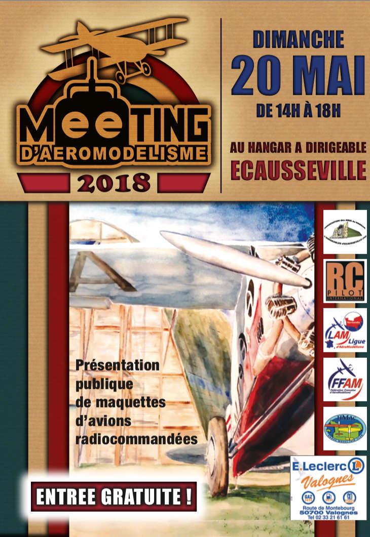 meeting d'aéromodélisme indoor écausseville Affich11