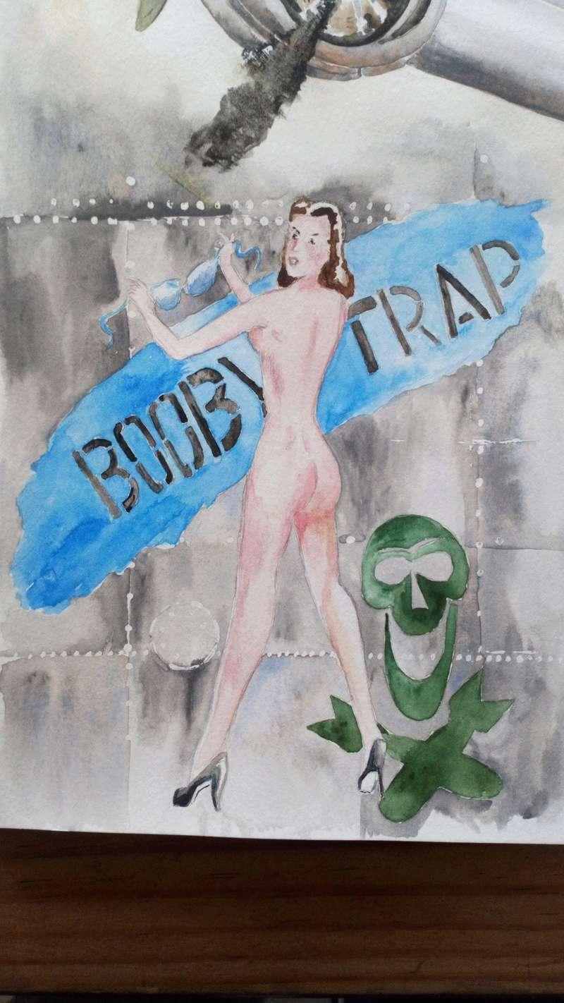 """B 24 liberator """"booby trap""""  Dsc_0310"""