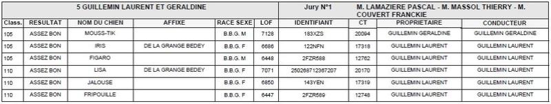 Les bbg en brevets saison 2017/2018 Liyvre19