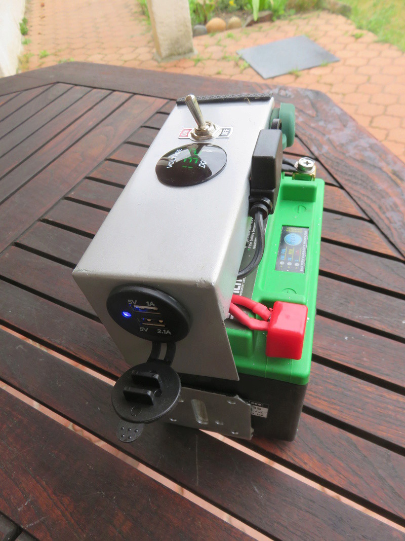 Installation batterie 12 V sur 881 Img_9415