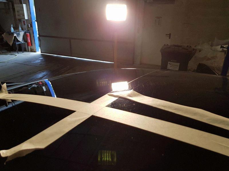 Rénovation detailing W219 par Rapid'carrosserie 311