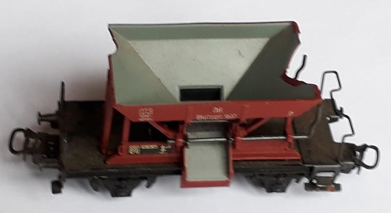 Réalisation de wagons en tôle, échelle 00 20181111