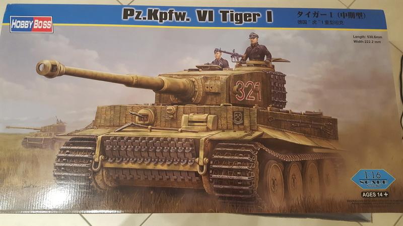 Panzer Kampfwagen VI Tiger I - Hobbyboss 1/16e 20180210