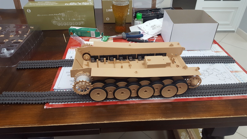 Panzer Kampfwagen VI Tiger I - Hobbyboss 1/16e 20180218
