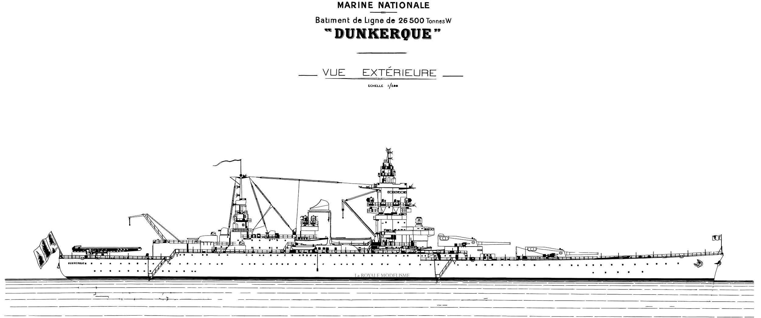 DUNKERQUE [1939] 1/350 HobbyBoss + pont en bois artwox - Page 3 Dunker59