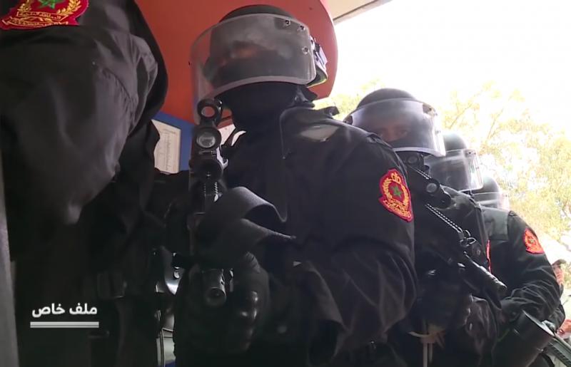 Moroccan Special Forces/Forces spéciales marocaines  :Videos et Photos : BCIJ, Gendarmerie Royale ,  - Page 14 20180416