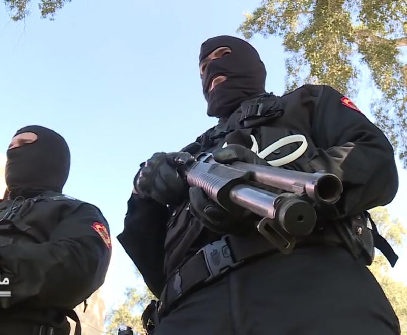 Moroccan Special Forces/Forces spéciales marocaines  :Videos et Photos : BCIJ, Gendarmerie Royale ,  - Page 14 20180417