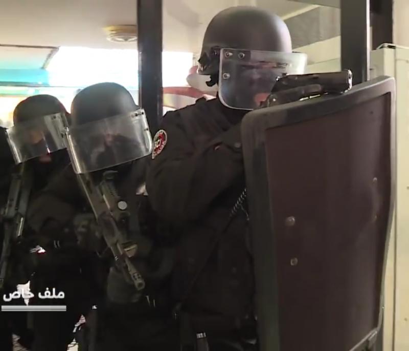 Moroccan Special Forces/Forces spéciales marocaines  :Videos et Photos : BCIJ, Gendarmerie Royale ,  - Page 14 20180418