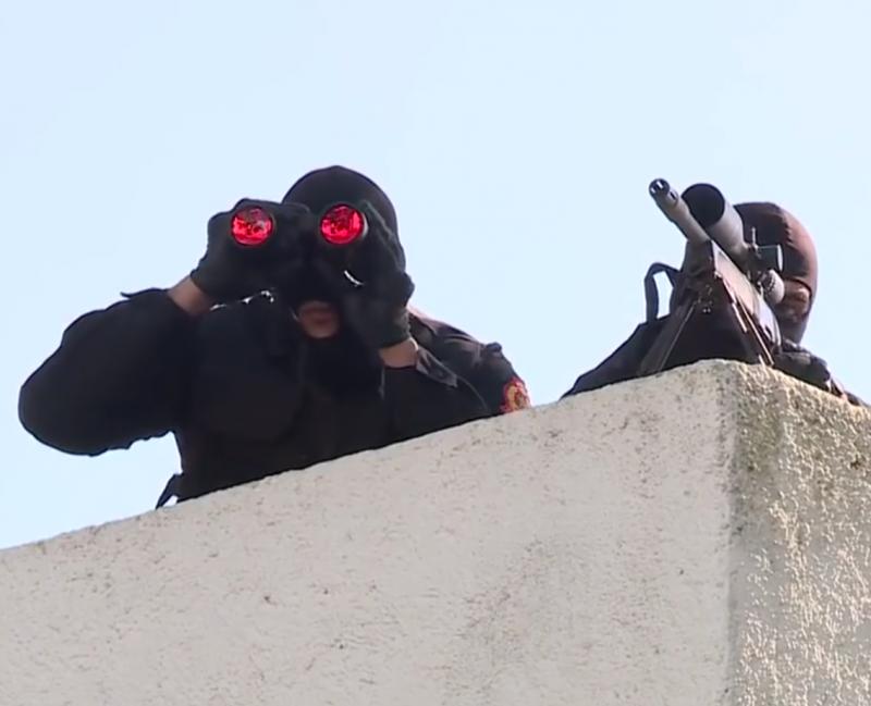 Moroccan Special Forces/Forces spéciales marocaines  :Videos et Photos : BCIJ, Gendarmerie Royale ,  - Page 14 20180419
