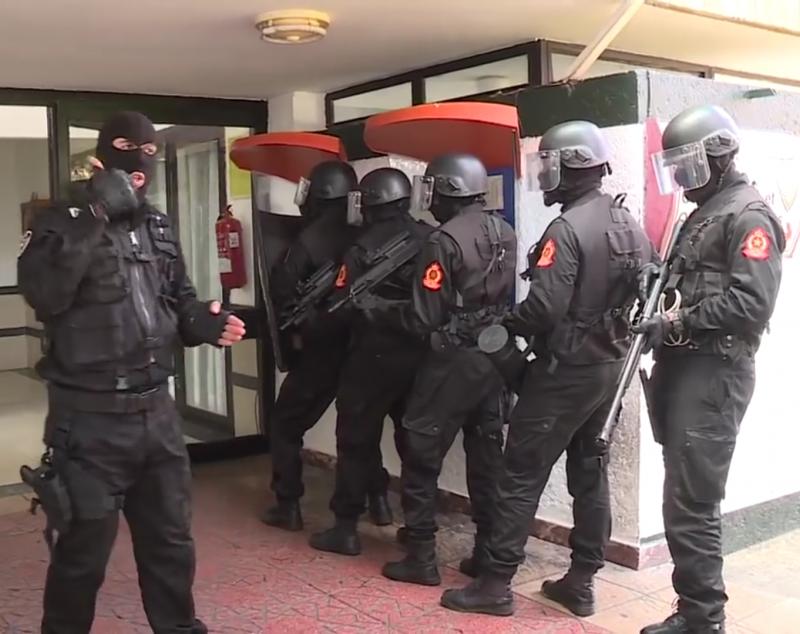 Moroccan Special Forces/Forces spéciales marocaines  :Videos et Photos : BCIJ, Gendarmerie Royale ,  - Page 14 20180421