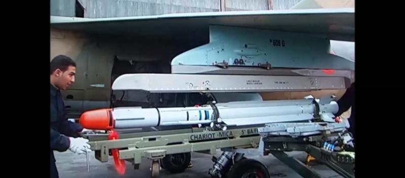 Missiles (Air-Air / Air-Sol / Air-Mer) roquettes et bombes en dotation. - Page 8 20180516
