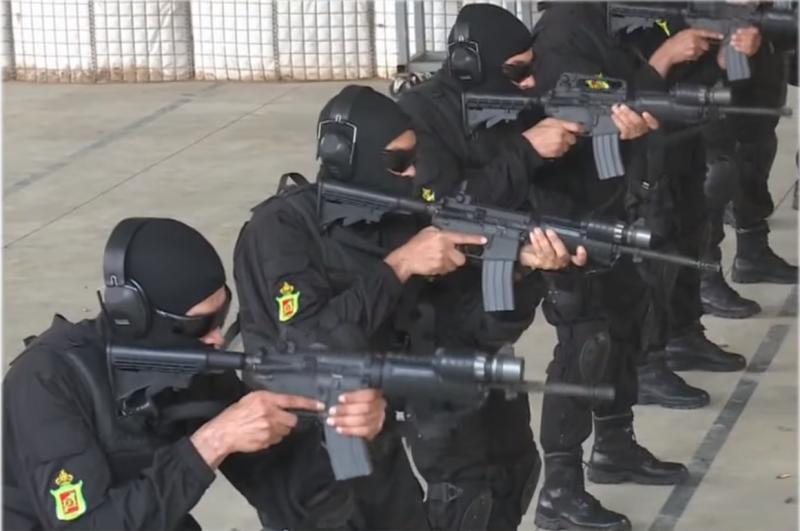 Moroccan Special Forces/Forces spéciales marocaines  :Videos et Photos : BCIJ, Gendarmerie Royale ,  - Page 14 Gr410