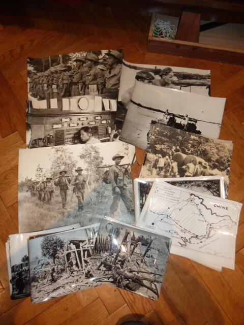 Lot indochina, US WW2, Gebirgsjäger, Uniforme complet S.A. Oberrhein....avec sa dague ! P1530910