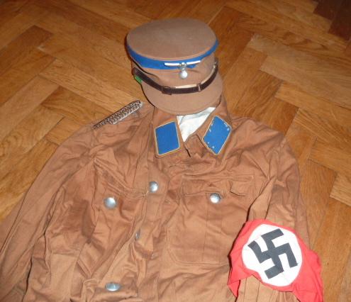 Lot indochina, US WW2, Gebirgsjäger, Uniforme complet S.A. Oberrhein....avec sa dague ! P1540029