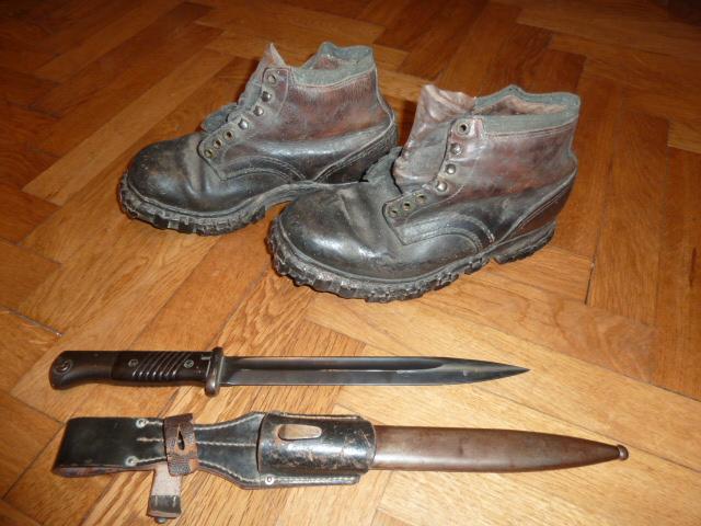 Lot indochina, US WW2, Gebirgsjäger, Uniforme complet S.A. Oberrhein....avec sa dague ! P1540030