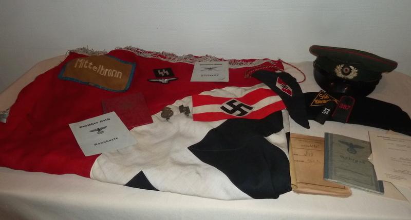 Courage: allemand impérial et 3eme Reich; français dont para Indochine..... P1570841