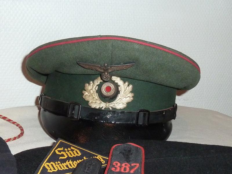 Courage: allemand impérial et 3eme Reich; français dont para Indochine..... P1570843