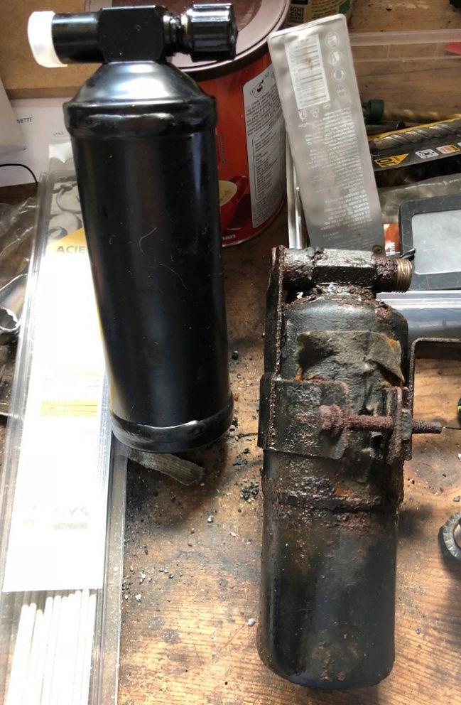 [TUTO] recharge climatisation R12 avec gaz de substitution Captur11