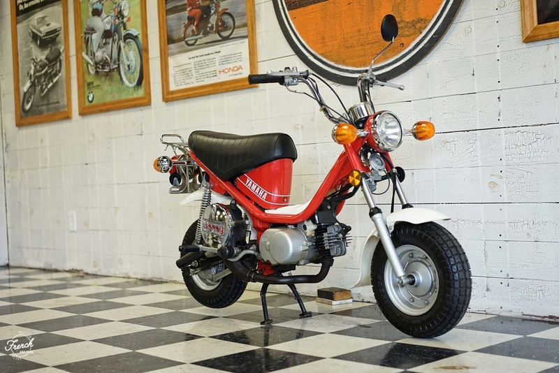 Restauration Yamaha Chappy 1982 1982ya10