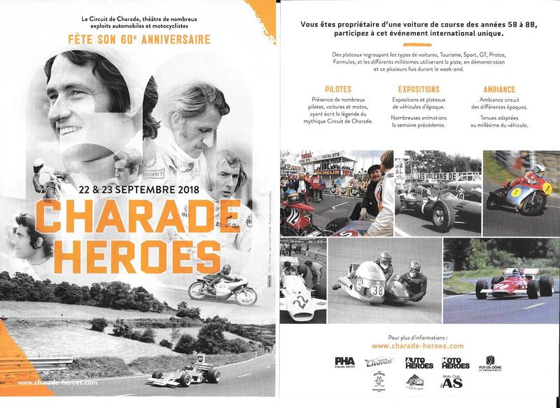 60 ème anniversaire CHARADE HEROES 22 et 23 Septembre 2018 Image10