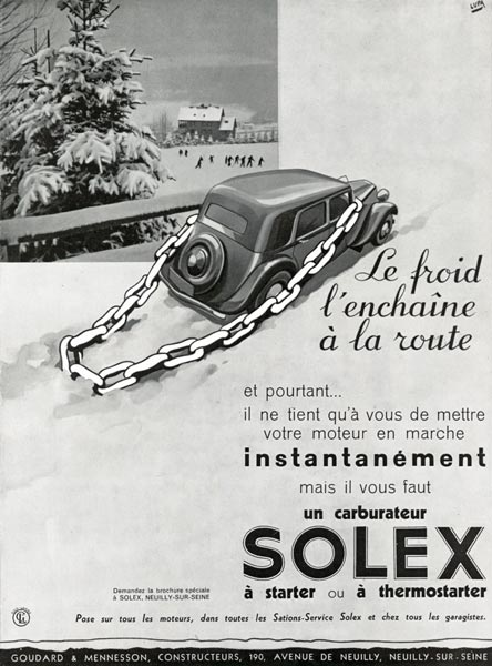 Nos Avant-Guerres en hiver... Solex-11