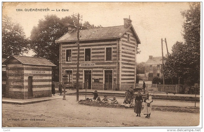 Gare de Quéménéven (PK 702,6) 120_0010