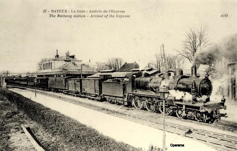 Gare de Bayeux (PK 268,7) 13819110