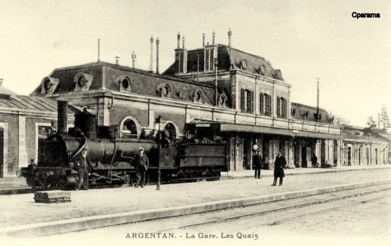 Gare d'Argentan (PK 99) 13826810