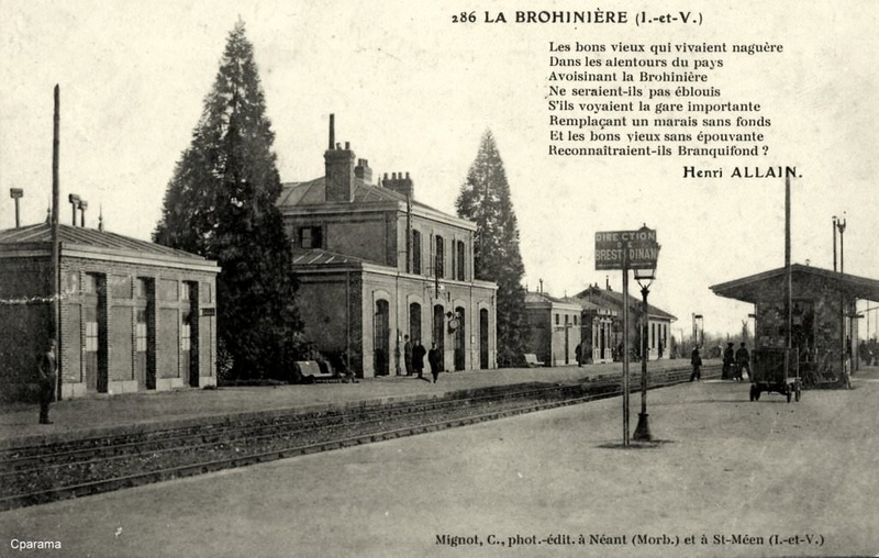 Gare de La Brohinière (PK 410,6) 13934110