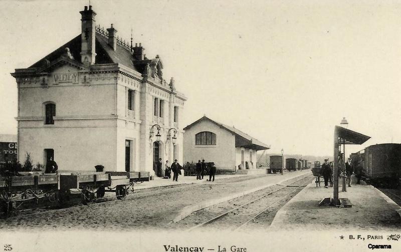 Pk 234,7 : Gare de Valençay (36) 14857610