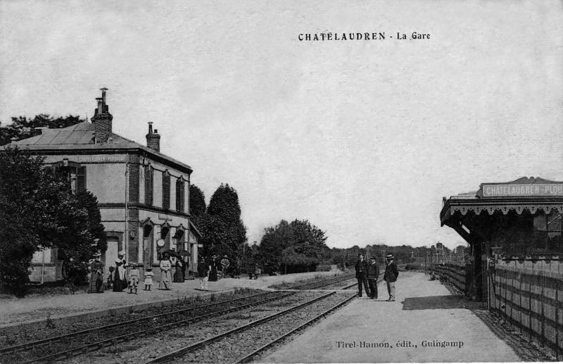 Gare de Châtelaudren - Plouagat (PK 491,9) Gare-c10