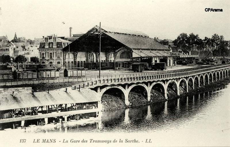 Tramways de la Sarthe Gare2010