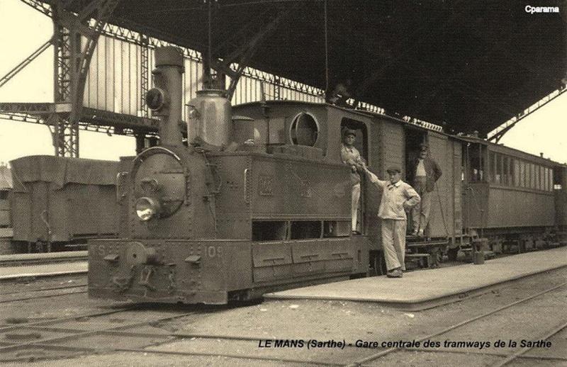 Tramways de la Sarthe Gare2011