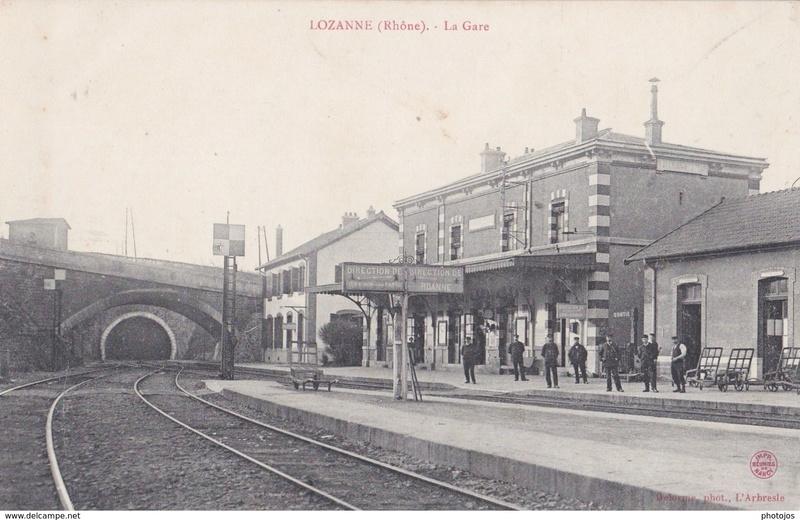 Gare de Lozanne (PK 485,2) L110