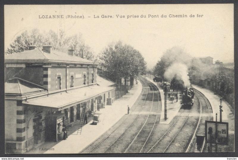 Gare de Lozanne (PK 485,2) L210