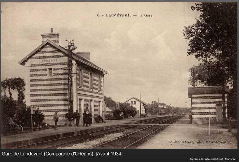 Gare de Landévant (PK 611,3) Landev10