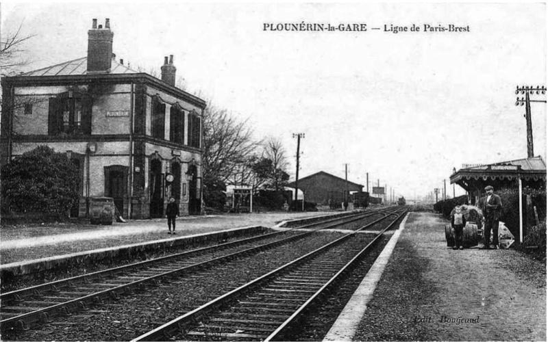 Gare de Plounérin (PK 539,1) Plouny10