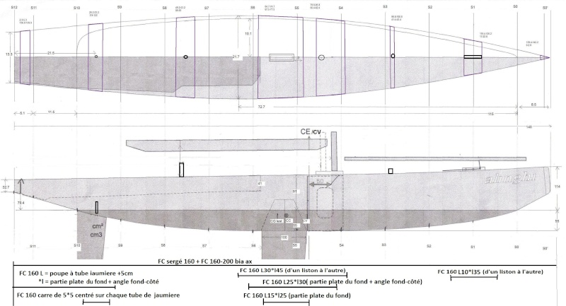 Construction d'un Open 60 au 1/12e - Page 3 Propos10