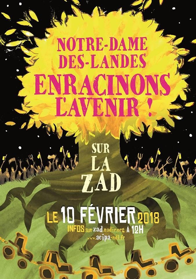 10/02/2018 Grande Mobilisation Enracinons l'avenir sur la Zad - NDDL (44) 26904310
