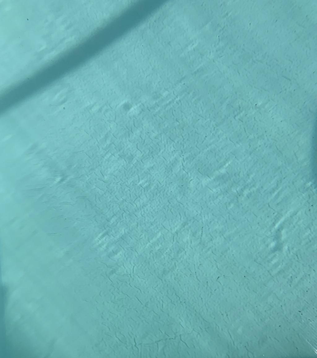 Boursouflures sur tout le liner C7244a10