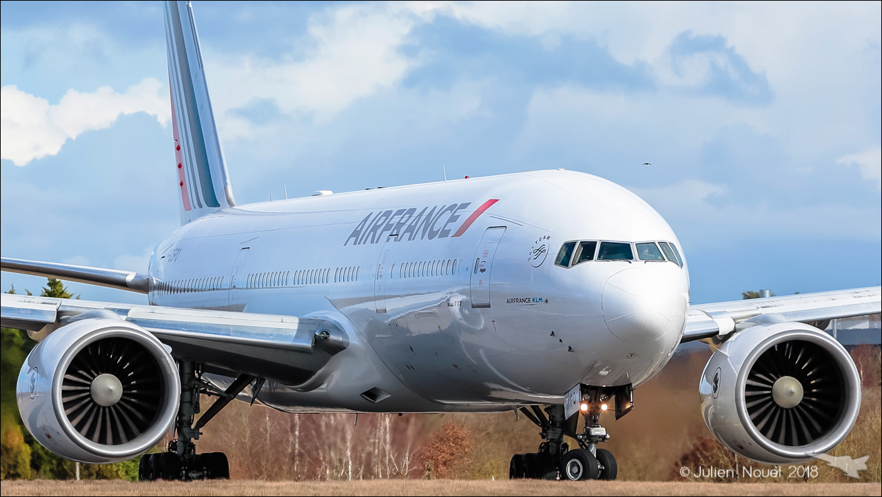 [04/03/2018] Boeing 777-20 (F-GSPQ) Air France   Spotti51